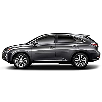 Dawn Enterprises FE-RX Finished End Body Side Molding Compatible with Lexus RX TUNGSTEN PEARL 1G1