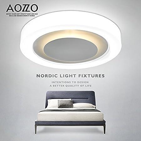 Amazon.com: LgoodL Lámpara de techo de acrílico LED moderna ...