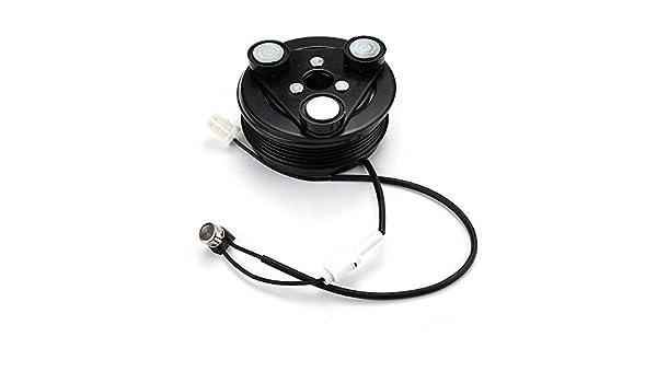Mazda 3 AC a/c Compresor Kit de embrague - Polea con placa de embrague, Coil,, y rodamientos + ahora con arnés de Original: Amazon.es: Coche y moto