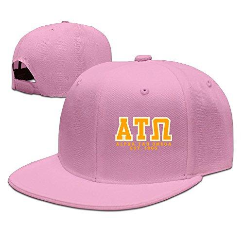 Alpha Tau Omega MenCaps Mens Adjustable Summer Hats Visor Pink