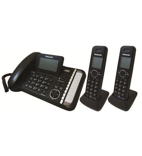 Panasonic 2-Line CordedCordless Phone
