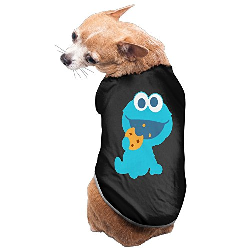 Rappy Dog's Cookie Monster Eating Cookie Infant Dog Sweater -