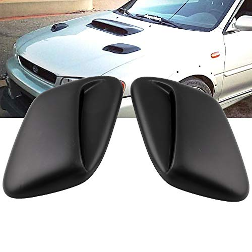 - Ruien Car Hood Scoop Air Flow Vent Cover for 99-01 Subaru Impreza GC8 STi WRX 2.5RS (Fully Enclosed Bottom)