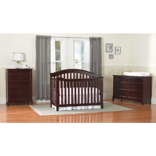 amazoncom summer infant freemont 5 drawer highboy dresser black cherry baby