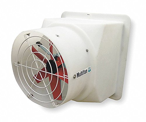 Agricultural Exhaust Fan - 240V Direct Drive, Preassembled, Adjustable Speed Agricultural Exhaust Fan, 1/8HP