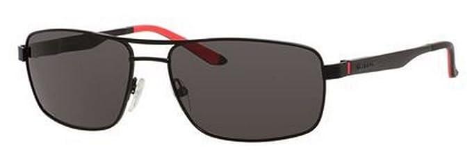 19d8e0c00d Amazon.com  Carrera 8011 S Sunglasses Matte Black Gray Polarized ...