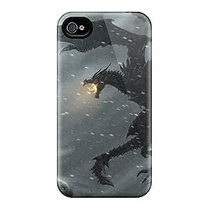 Luoxunmobile333 Scratch-free Phone Cases For Samsung Galaxy Note3- Retail Packaging - The Elder Scrolls V Skyrim Dragonborn