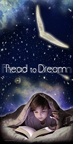 Read to Dream - Literacy Poster, For Classroom, Office, Home or Library