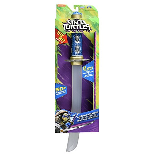 Teenage Mutant Ninja Turtles - Out of the Shadows: Leonardo's Electronic Battle Sword (Teenage Sword)