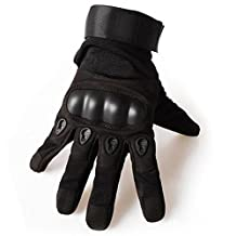 K-mover Mens Tactical Gloves Hard Knuckle Full Finger Military Gear Gloves Cycling Gloves