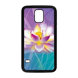 Samsung Galaxy S5 Cell Phone Case Black Lotus D5C1JN