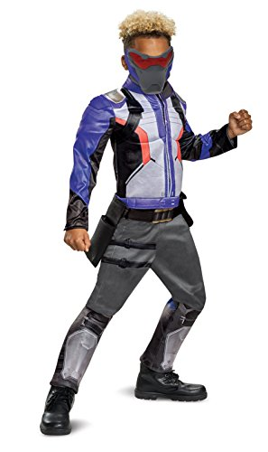 Disguise Soldier: 76 Classic Muscle Child Costume, Blue, X-Large/(14-16)