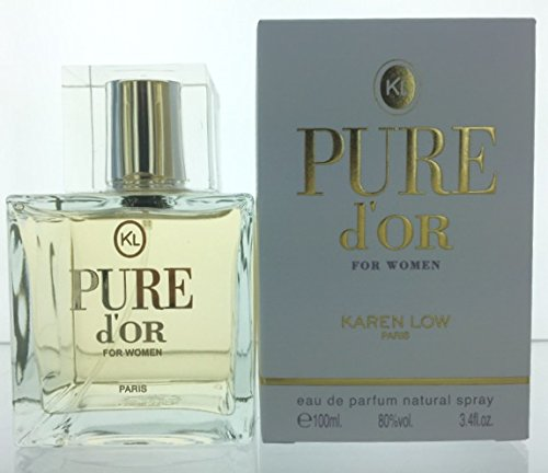 Pure D'or By Karen Low 3.4oz EDP (Pure 3.4 Ounce Edp)