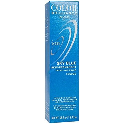 Ion Color Brilliance Semi-Permanent Brights Hair Color Sky Blue, 2.05 oz for $<!--$2.68-->