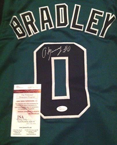 Avery Bradley Pistons Autographed Signed Boston Celtics Jersey Size Large JSA Certified