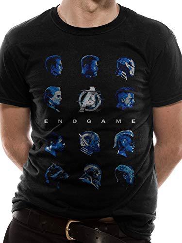 Black Heads Unisex-L T-Shirt