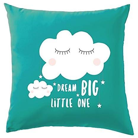 Dream Big Little One - Funda para cojín funda de almohada de ...