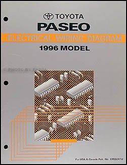 1996 Toyota Paseo Electrical Wiring Diagram (EL54 Series): Toyota:  Amazon.com: BooksAmazon.com