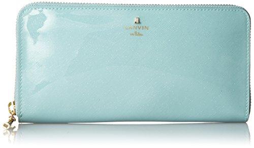 [랑방 온 블루] LANVIN en Bleu Amazon공식 정규품 룩셈블 에나멜 라운드 장지갑