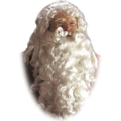 (Santa Claus Deluxe Wig & Beard One)