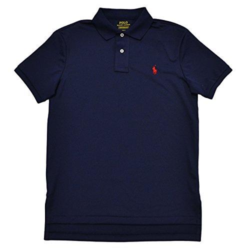Polo Ralph Lauren Mens Performance Mesh Polo Shirt (Medium, Polo (Performance Armband)