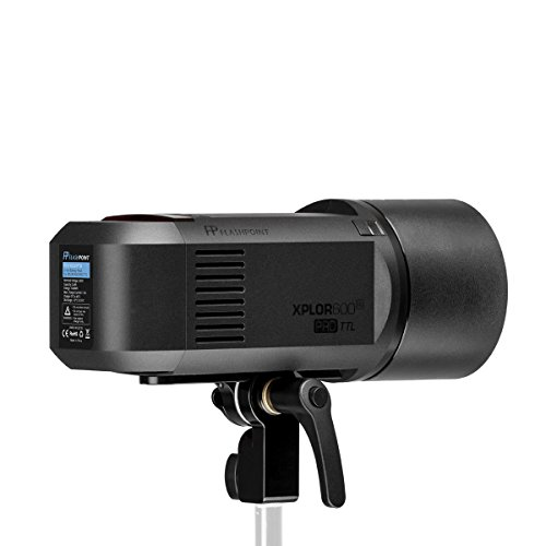 Flashpoint XPLOR 600PRO TTL Battery-Powered Monolight with Built-in R2 2.4GHz Radio Remote System R2 Pro Transmitter for Sony (Bowens Mount) - Godox AD600 Pro