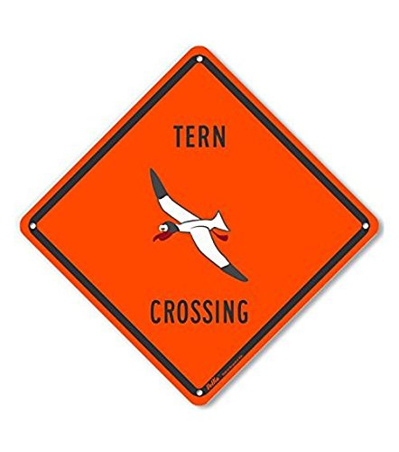 PetKa Signs and Graphics PKAC-0412-NP/_10x10Tern Crossing Plastic Sign 10 x 10