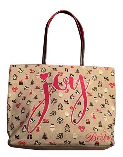 - Brighton Joy Christmas Holiday Tote Bag