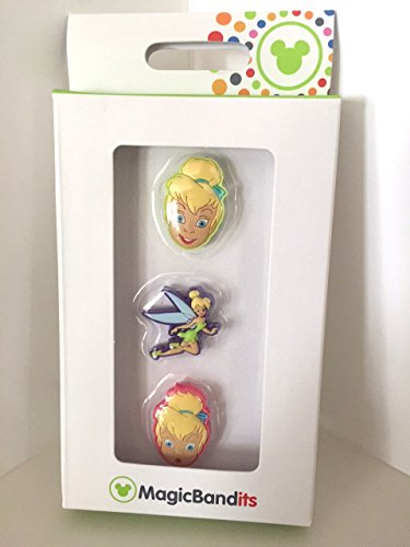 Tinkerbell Face Magic Band Bandits Set of 3 Charms ()