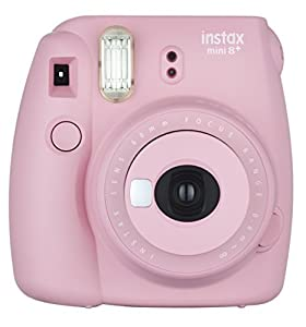 Fujifilm Instax Mini 8+ (Mint) Instant Film Camera + Self Shot Mirror for Selfie Use (Japan Import)