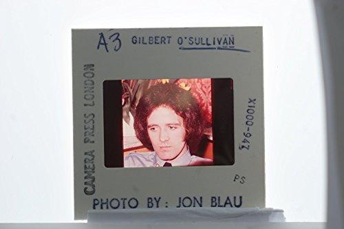 Slides photo of A candid portrait of Gilbert O39;Sullivan.