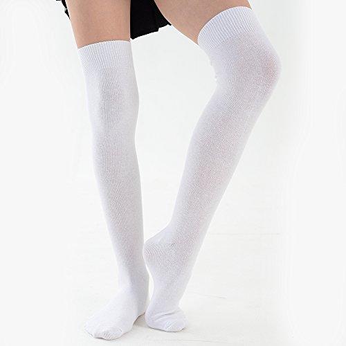 Chaussettes Dans Couleurs Tailles Filles amp; Uk Unies Pour Eesa Blanc Adam Lycées Uniformes 8 wFEnB