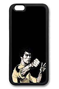 6 Case, iPhone 6 Case Bruce Lee Punch Ideas TPU Silicone Gel Back Cover Skin Soft Bumper Case Cover for Apple iPhone 6Maris's Diary
