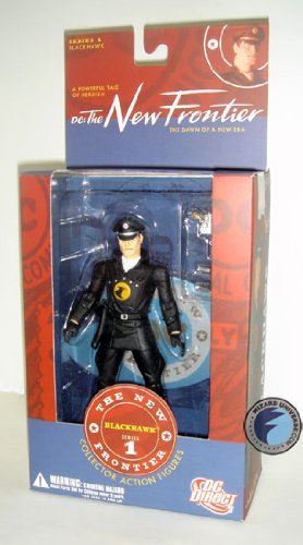 DC The New Frontier Series 1 Blackhawk Action Figure DC Direct