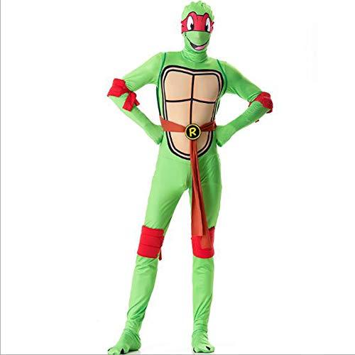 Halloween Costume, Teenage Mutant Ninja Turtle Costume Cosplay Turtle Stage Performance Costume,XL -