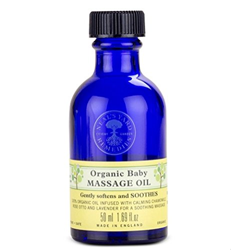 Neal's Yard Remedies Organic Baby Massage Oil 50ml Neal' s Yard Remedies