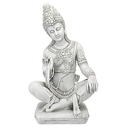 Amazon.com: design toscano ky47128 sentado tailandés ...