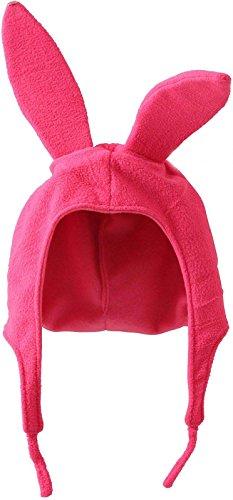 Louise Pink Bunny Ears Hat Bob's Burgers Cosplay Costume Halloween (Bob's Burgers Louise Halloween)
