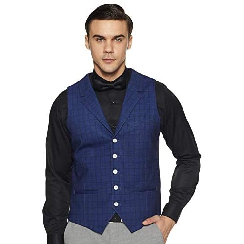 414p9pEA9RL. SS500  - Peter England Men's Waistcoat