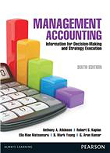 Management Accounting 6/e