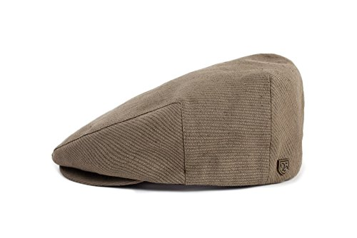 Brixton Men's Hooligan Driver Snap Hat, Light Olive/Olive, Large
