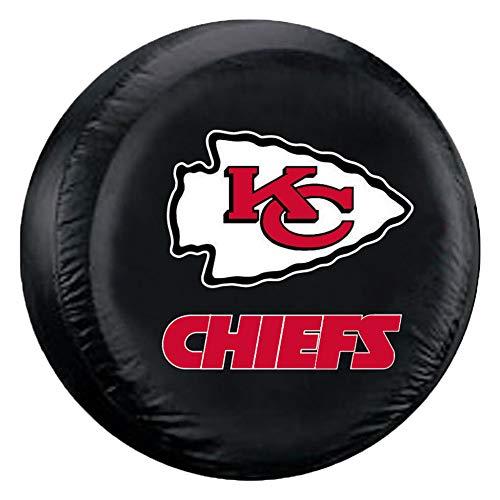 Fremont Die NFL Kansas City Chiefs Tire Cover, Standard Size (27-29