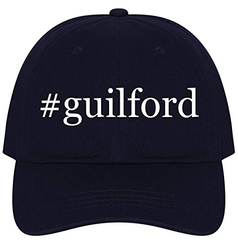 The Town Butler #Guilford - A Nice Comfortable Adjustable Hashtag Dad Hat Cap, -