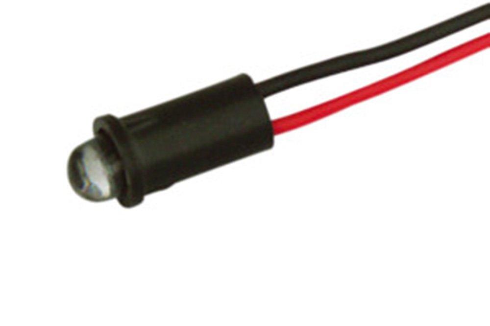 LED 5 mm 220 VAC 12.727/5/V (grü n) Electro dh