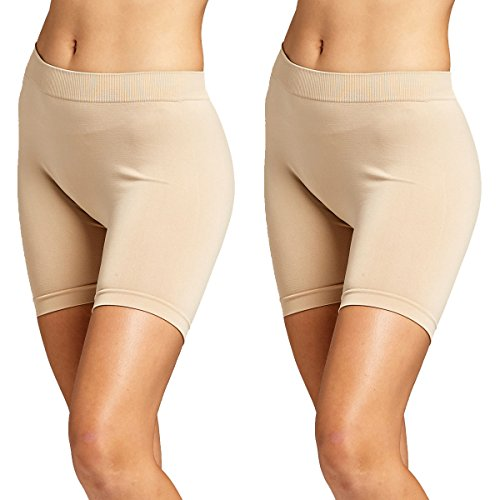 Conceited Premium Basic Spandex Boyshort Leggings - Slip Shorts, Bike, Yoga Short - 19