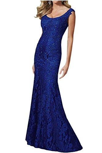 Kleider Figurbetont Brautmutterkleider Marie Jugendweihe La Abendkleider Langes Braut Blau Royal Etuikleider Spitze 0TTxz
