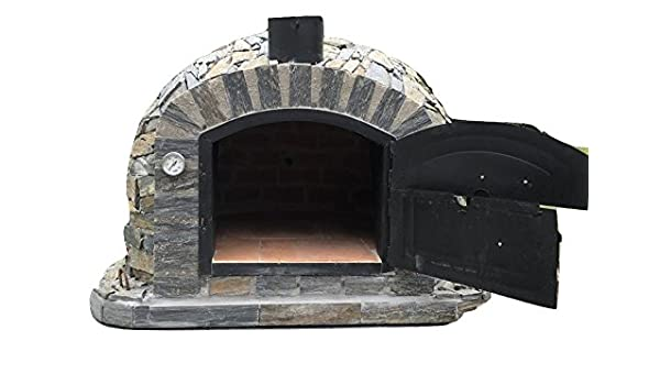 Amazon.com: Authentic Pizza Ovens Lisboa Handmade Traditional Stone Wood Fired Oven: Garden & Outdoor
