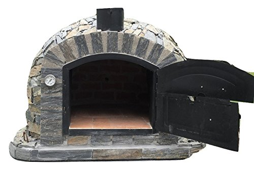 (Authentic Pizza Ovens - Lisboa Handmade Traditional Stone Wood Fired Oven)