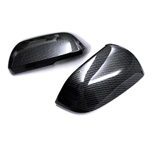 ABS Exterior Back Rear View Side Door Mirror Decoration Cover Trim 2PCS for Volkswagen VW Atlas 2017 2018 2019 B Model