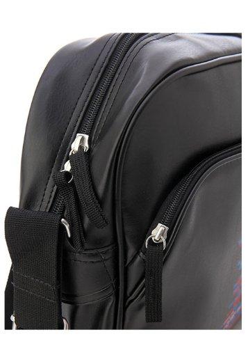 Nike Unisex Laptop Messenger Shoulder Bag (Black with Colorful words)